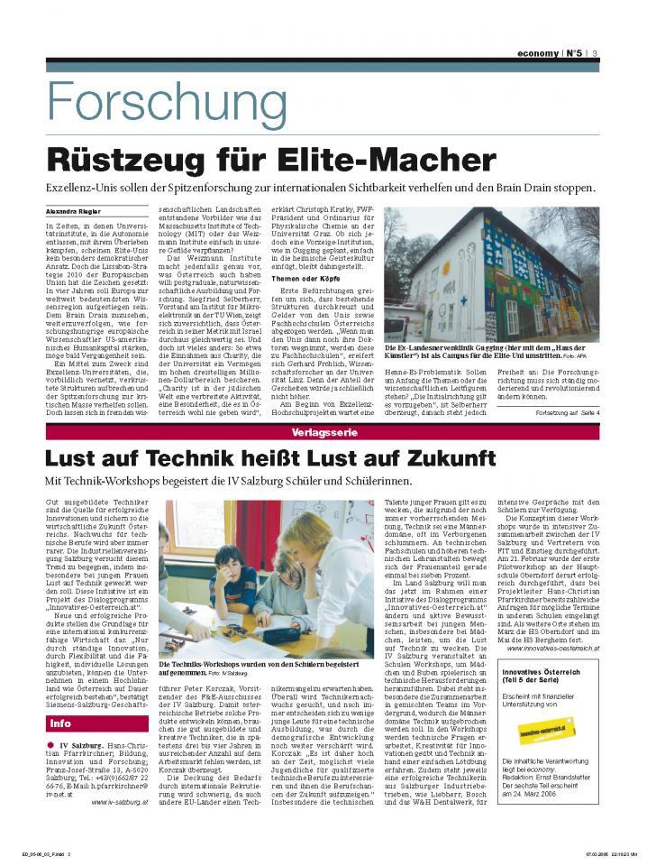 Heft Ausgabe Nr. 05 - Seite 3