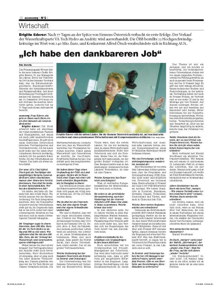 Heft Ausgabe Nr. 05 - Seite 22