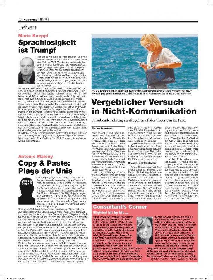 Heft Ausgabe Nr. 18 - Seite 24