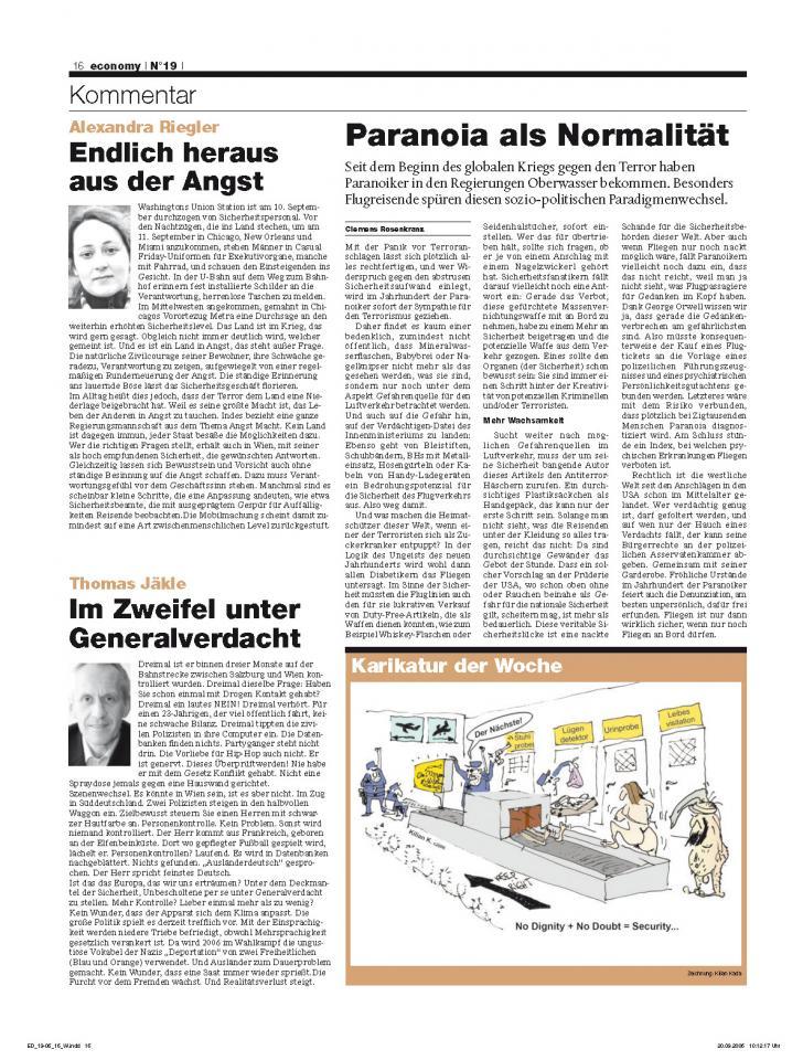 Heft Ausgabe Nr. 19 - Seite 16