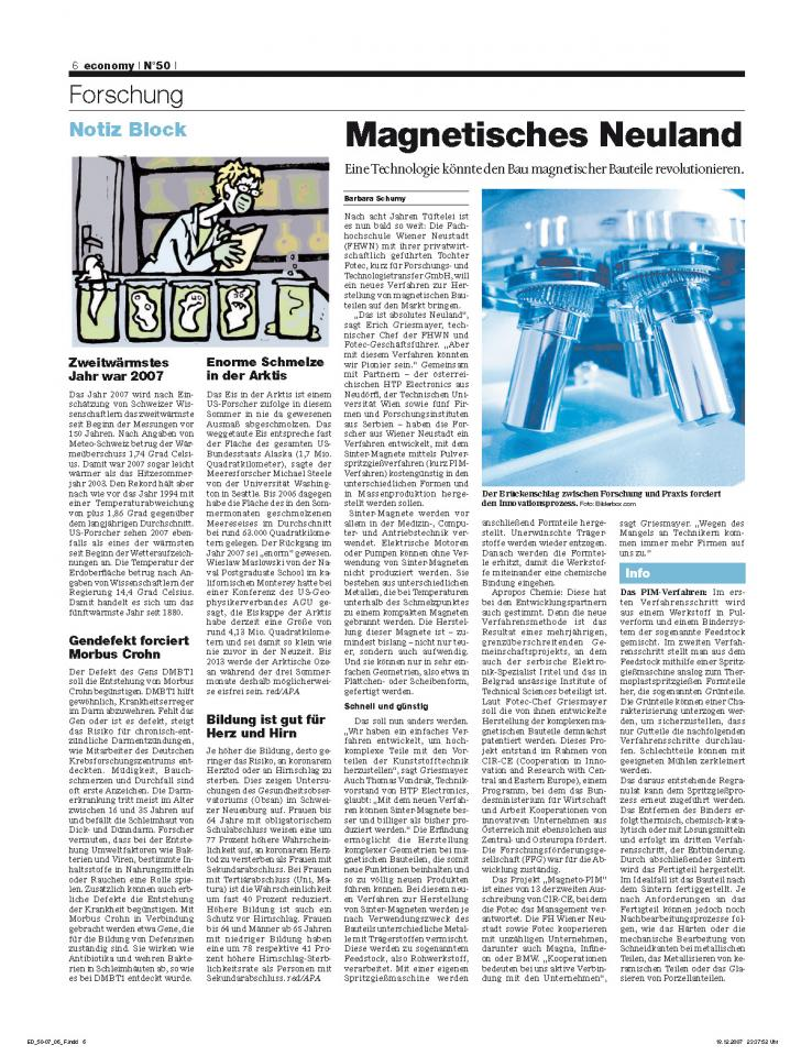 Heft Ausgabe Nr. 50 - Seite 6