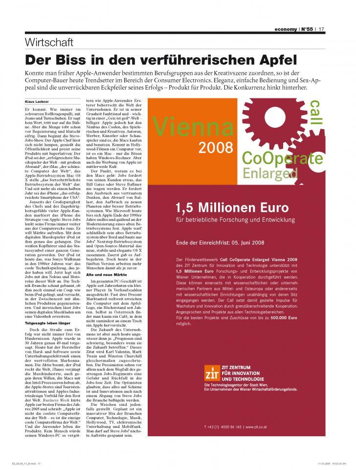 Heft Ausgabe Nr. 55 - Seite 17