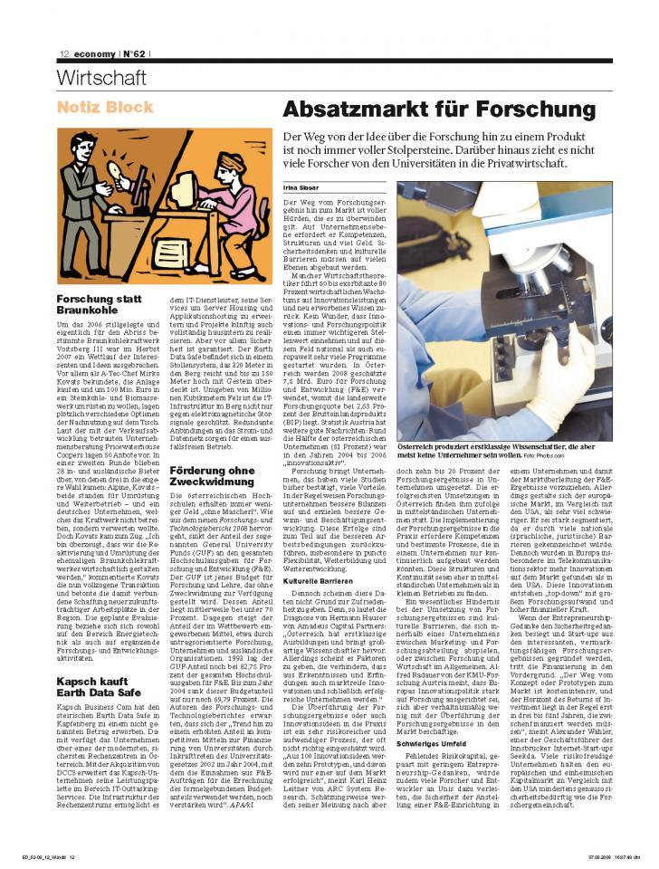 Heft Ausgabe Nr. 62 - Seite 12