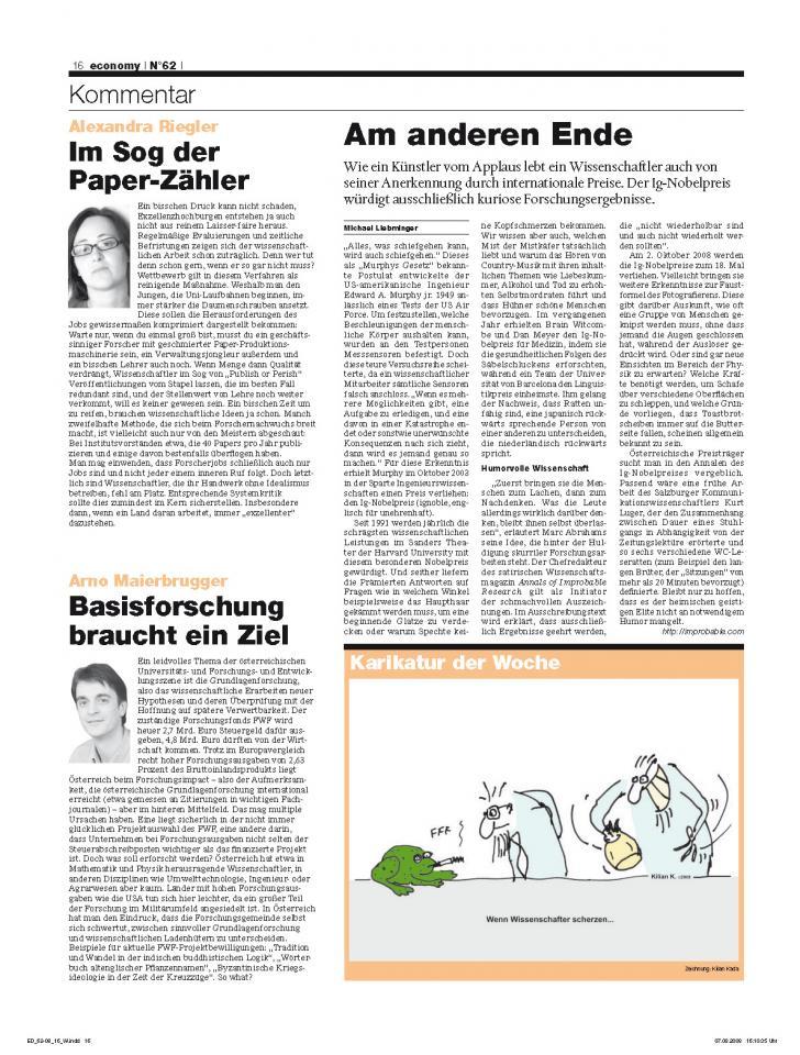 Heft Ausgabe Nr. 62 - Seite 16