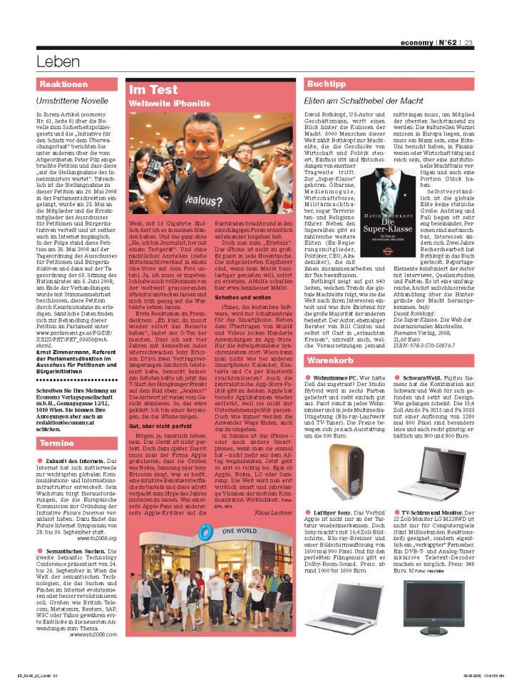 Heft Ausgabe Nr. 62 - Seite 23