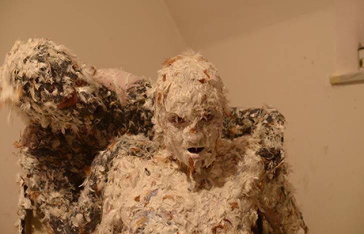Psychohygiene oder die Transformation der Künstlerin zum Objekt