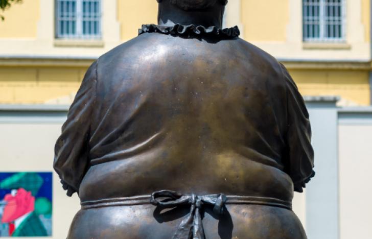 Mehr dicke Männer am Land