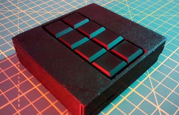 Eine Smartphone-Tastatur für Blinde