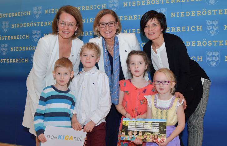 Digitale Verwaltungsoffensive für NÖ-Landeskindergärten